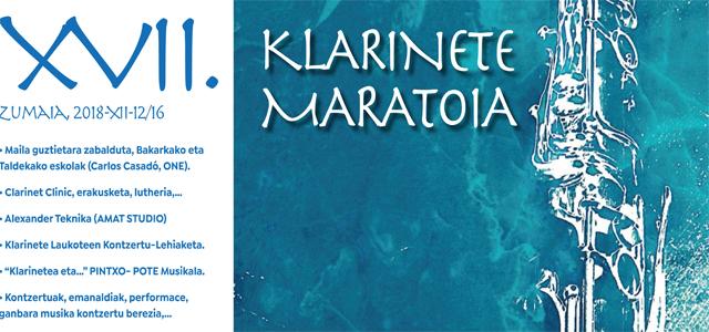XVII. Klarinete maratoia Zumaian