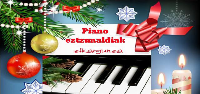 Pianoko ikasleen Entzunaldia