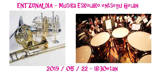 Metala-Perkusioa: Entzunaldia Musika Eskolan