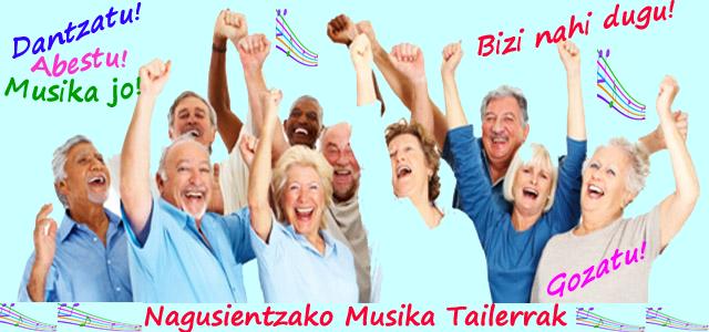 Nagusientzako Musika Tailerra: aurkezpena, irailak 8