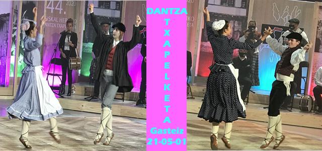 Arabako XXVIII. Dantza Suelto Txapelketa-Gasteizen larunbatean