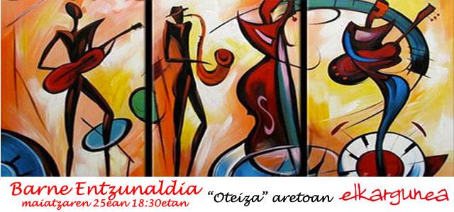 BARNE ENTZUNALDIA: Saxofoia-Gitarra eta Konboak
