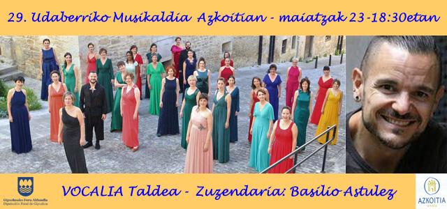 Vocalia Taldea, 29. Udaberriko Musikaldian
