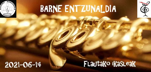 Barne Entzunaldia – Flauta